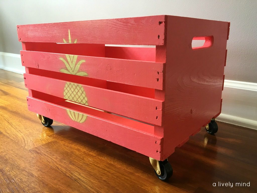 Easy peasy DIY toy storage