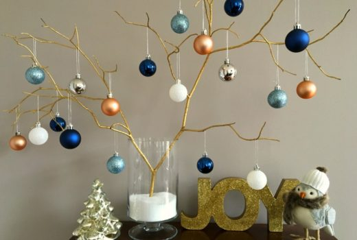 Easy, elegant DIY Christmas decor